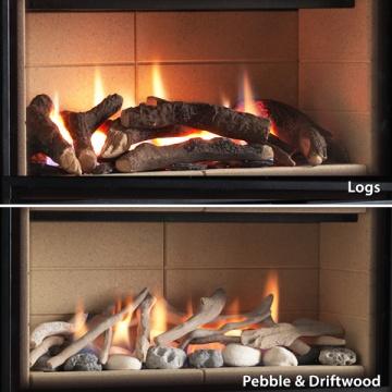 Legend Ethos 750 Portrait Gas Fire Flames Co Uk